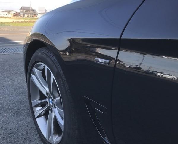 泉佐野市 BMW フロントグリル 鈑金塗装