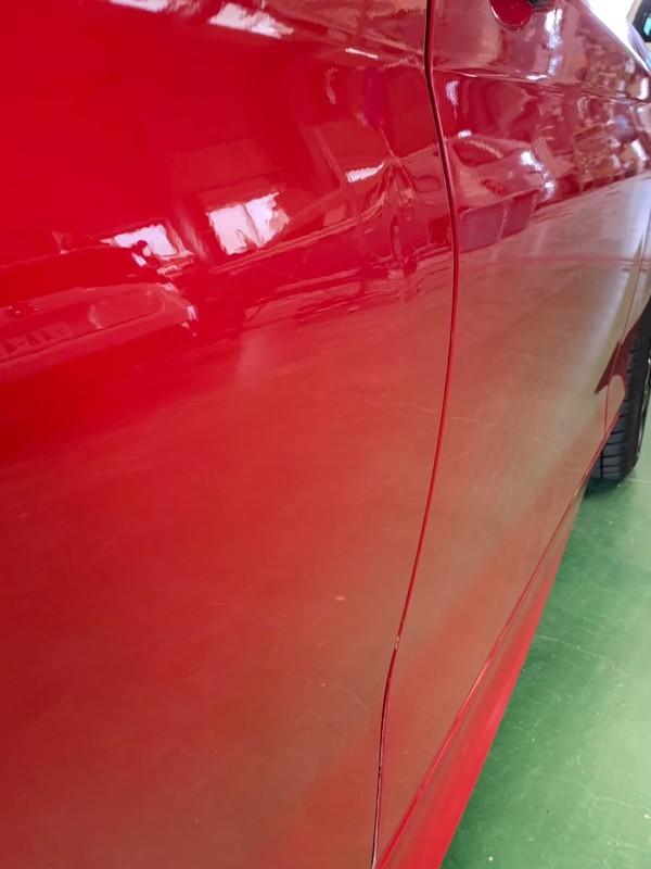 阪南市 BMW 右リヤドア板金塗装
