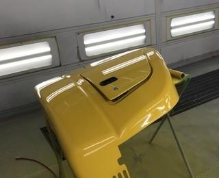 御坊市 重機 鈑金塗装